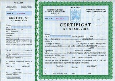 curs cu certificat acreditat