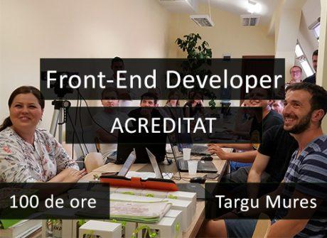 curs it acreditat targu mures front end developer