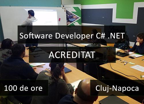 curs acreditat c net it cluj