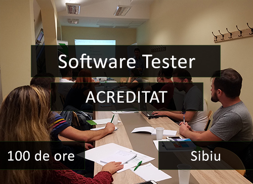 curs it testare software acreditat sibiu