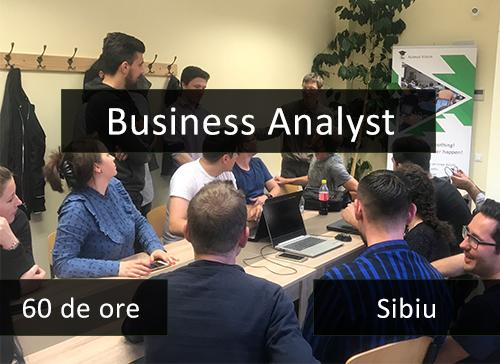curs business analyst it sibiu
