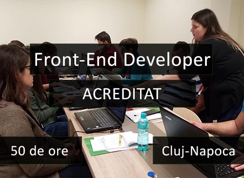 curs front end developer compact acreditat cluj
