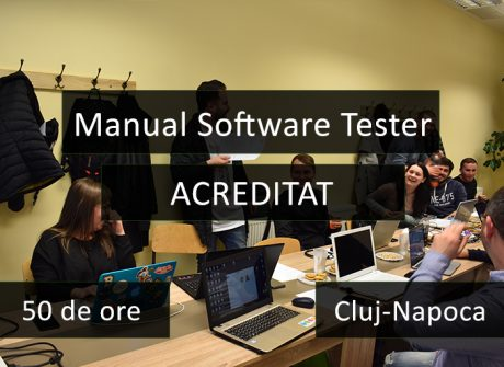 curs manual software tester acreditat cluj
