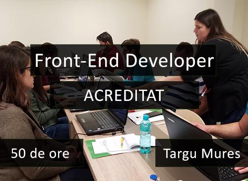 targu mures curs it acreditat front end developer compact