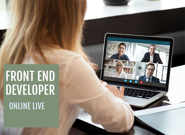 curs it online live front end developer